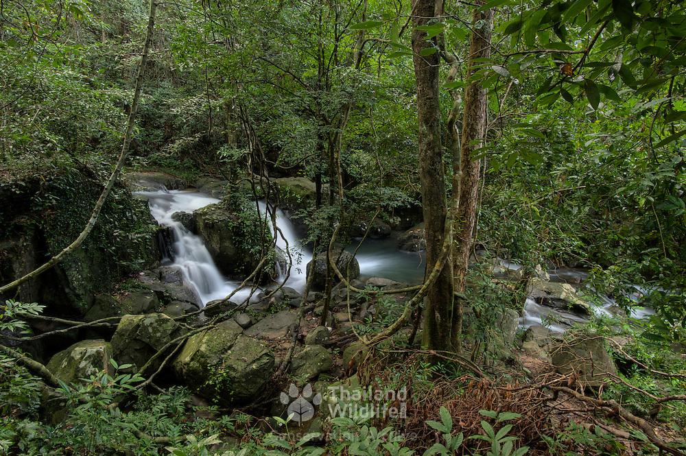 The Krabak Waterfall in Pang Sida National Park, Thailand.