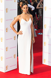 © Licensed to London News Pictures. 08/05/2016. London, UK.ROCHELLE HUMES attends the BAFTA Television Awards 2016. Photo credit: Ray Tang/LNP