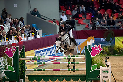 THIEME Andre (GER), Carina 560<br /> Neustadt-Dosse - CSI 2019<br /> 2. Qualifikation Youngster Tour für 7 und 8 jährige Pferde<br /> 11. Januar 2019<br /> © www.sportfotos-lafrentz.de/Stefan Lafrentz