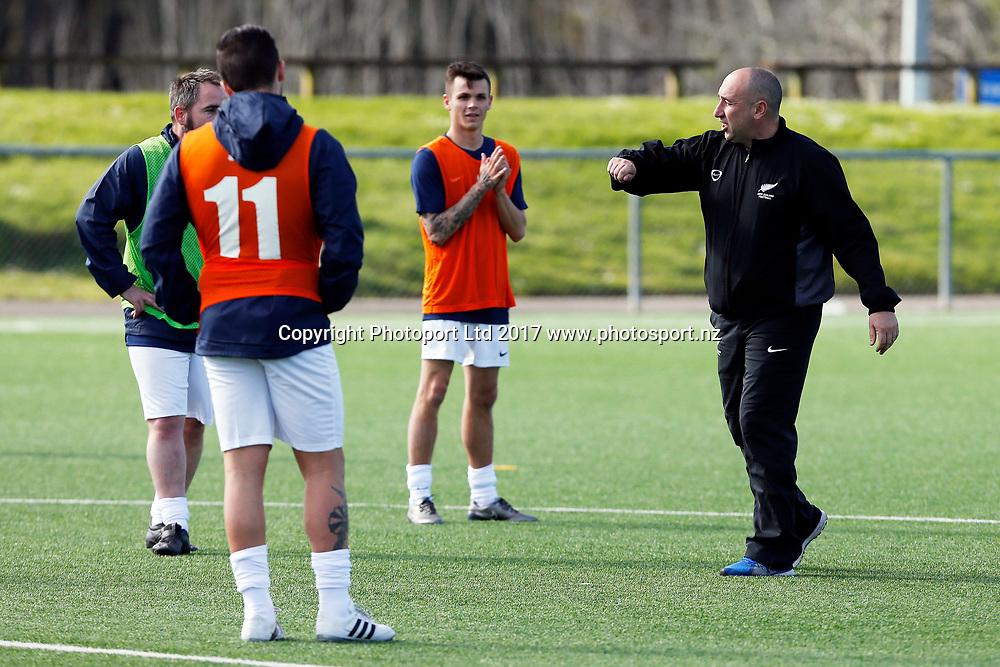 New Zealand Football Senior Level 2 coaching clinic, North Harbour Stadium, Albany, Auckland. 21 September 2017. Copyright Image: William Booth / www.photosport.nz