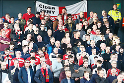 Bristol City supporters- Mandatory by-line: Phil Chaplin/JMP - FOOTBALL - Carrow Road - Norwich, England - Norwich City v Bristol City - Sky Bet Championship