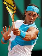 Roland Garros. Paris, France. June 4th 2007..Rafael NADAL against Lleyton HEWITT..
