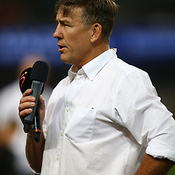 DURBAN, SOUTH AFRICA - AUGUST 27: Gary Teichmann (Chief executive officer) of the Cell C Sharks during the Currie Cup match between Cell C Sharks XV and Vodacom Blue Bulls at Growthpoint Kings Park on August  27, 2016 in Durban, South Africa. (Photo by Steve Haag/Gallo Images)