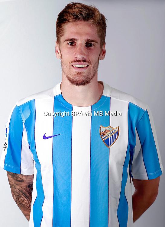 Spain - Liga BBVA 2015-2016 / <br /> ( Malaga C.F. ) - <br /> Raul Albentosa Redal