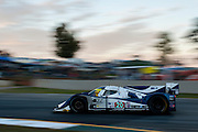 Tony Burgess, Mark Patterson and Chris McMurry, Dyson Racing Team Inc. (P1) Mazda Lola B11/66, Petit Le Mans. Oct 18-20, 2012. © Jamey Price