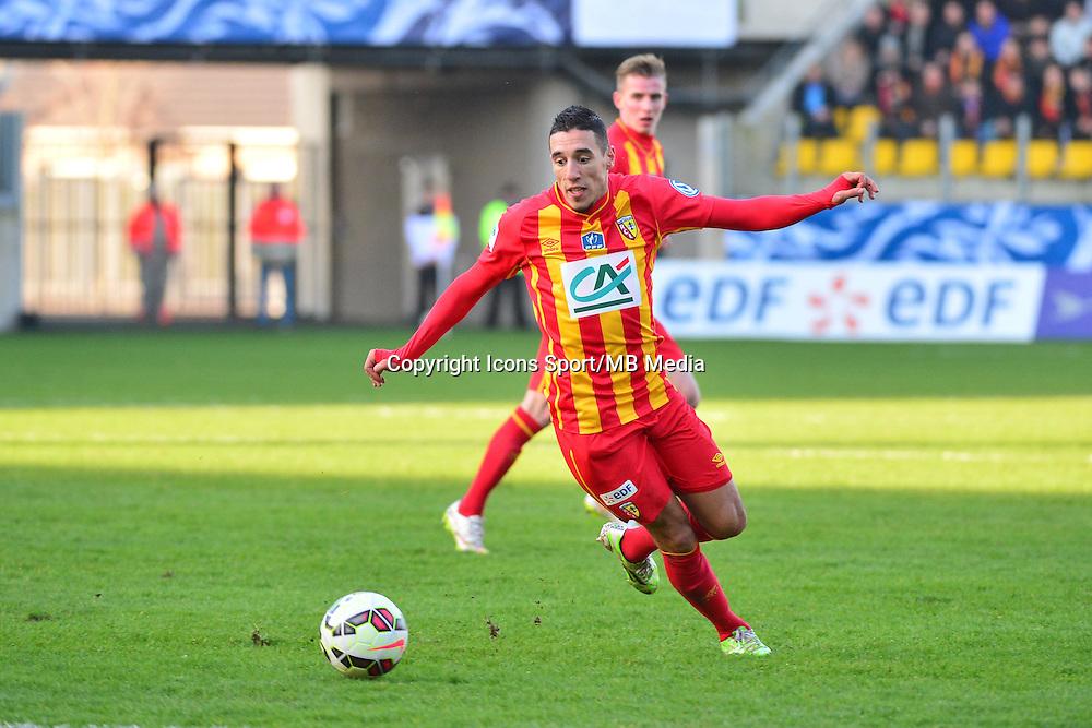 Alharbi EL JADEYAOUI - 04.01.2014 - Lens / Lyon - Coupe de France<br />Photo : Dave Winter / Icon Sport