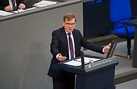 DEU, Deutschland, Germany, Berlin, 31.01.2019: Dr. Johann Wadephul (CDU) bei einer Rede während einer Plenarsitzung im Deutschen Bundestag.