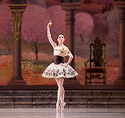 The Mariinsky Ballet <br /> Mixed Bill <br /> at The Royal Opera House Covent Garden, London, Great Britain <br /> 8th August 2017 <br /> <br /> Grand Pas From Paquita<br /> <br /> Viktoria Tereshkina as Paquita<br /> <br /> <br /> <br /> <br /> <br /> Photograph by Elliott Franks <br /> Image licensed to Elliott Franks Photography Services