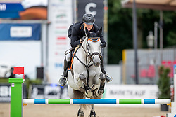WINKELMANN Rupert Carl (GER), DEEP BLUE BRIDGE S<br /> Münster - Turnier der Sieger 2019<br /> BRINKHOFF'S NO. 1 -  Preis<br /> CSI4* - Int. Jumping competition  (1.50 m) -<br /> 1. Qualifikation Grosse Tour <br /> Large Tour<br /> 02. August 2019<br /> © www.sportfotos-lafrentz.de/Stefan Lafrentz