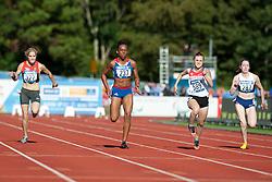 SEIFERT Maria, FRANCOIS-ELIE Mandy, SAPOZHNIKOVA Anna, MCLOUGHLIN Jenny, 2014 IPC European Athletics Championships, Swansea, Wales, United Kingdom