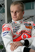 Motorsports / Formula 1: World Championship 2009, tests in Portimao, Algarve, Heikki Kovalainen (FIN, Vodafone McLaren Mercedes). 28th Jan 2009.