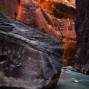 Zion National Park, Utah, the Narrows