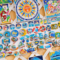 Alberto Carrera, Street Souvenirs Shops, Capri, Sorrentine Peninsula, Gulf of Naples, Tyrrhenian Sea, Province of Naples, Campania, Italy, Europe
