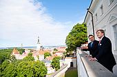 Staatsbezoek aan de Republiek Estland Dag 1