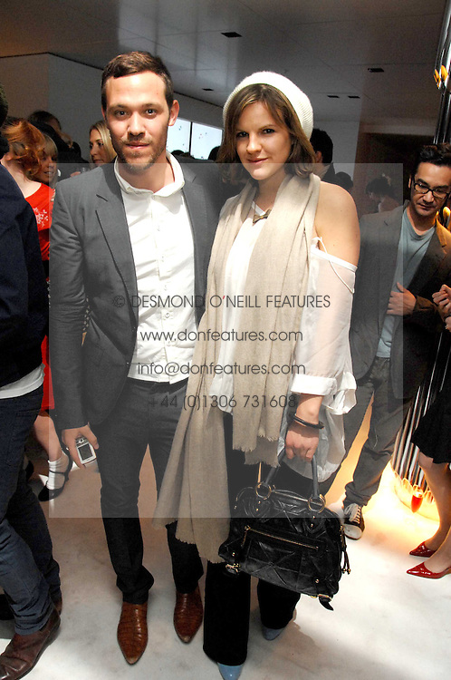 Singer WILL YOUNG and KATE SUMNER daughter of singer Sting at a party hosted by PPQ of Mayfair at the Fiat Flagship Store, 105 Wigmore Street, London W1 on 11th February 2008.<br /><br />NON EXCLUSIVE - WORLD RIGHTS