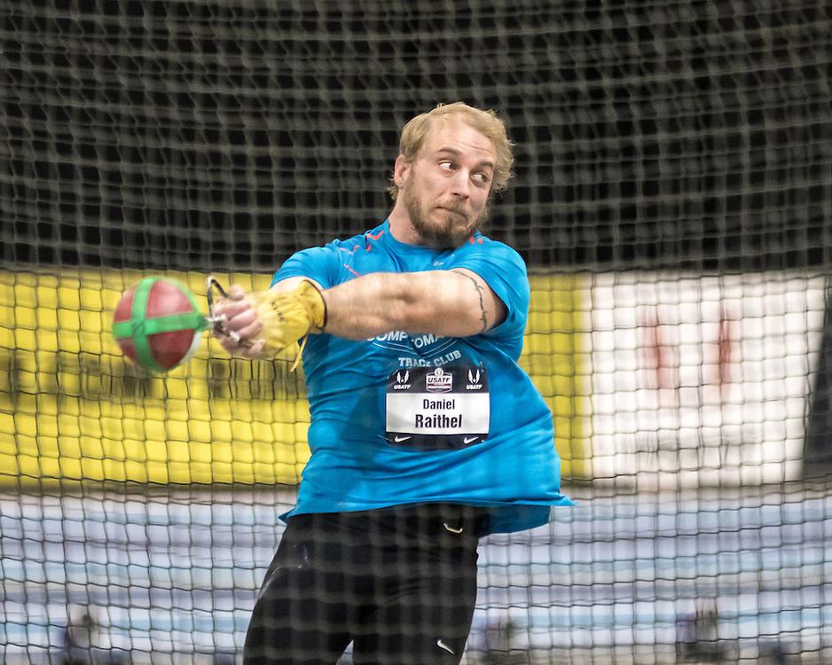 USATF Indoor Track & Field Championships: mens weight throw, Daniel Raithel