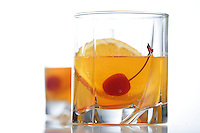 Close up of drink- studio shot