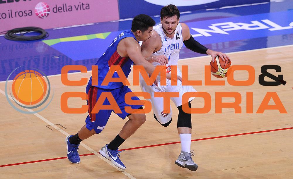DESCRIZIONE: Bologna Basketball City Tournament - Italia Filippine<br /> GIOCATORE: Alessandro Gentile<br /> CATEGORIA: Nazionale Maschile Senior<br /> GARA: Bologna Basketball City Tournament - Italia Filippine<br /> DATA: 25/06/2016<br /> AUTORE: Agenzia Ciamillo-Castoria
