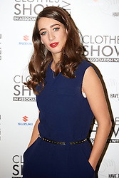 © Licensed to London News Pictures.  07/12/2012. BIRMINGHAM, UK. TV presenter Laura Martin (pictured) is seen during the opening photo call for the Clothes Show Live event being held in the NEC, Birmingham. The show opens today and runs until Tuesday. Photo credit :  Cliff Hide/LNP
