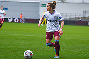 West Ham United Women defender Katharina Baunach (11) in action during the FA Women's Super League match between Manchester City Women and West Ham United Women at the Sport City Academy Stadium, Manchester, United Kingdom on 17 November 2019.
