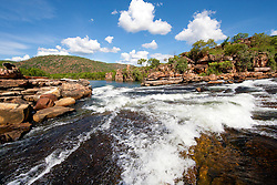 The Roe River in Western Australia's Kimberley.