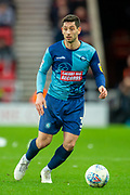 Joe Jacobson (#3) of Wycombe Wanderers during the EFL Sky Bet League 1 match between Sunderland AFC and Wycombe Wanderers at the Stadium Of Light, Sunderland, England on 11 January 2020.