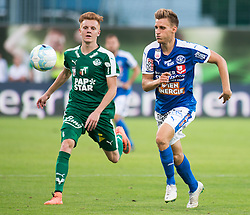 29.07.2016, Gernot Langes Stadion, Wattens, AUT, 2. FBL, WSG Wattens vs Floridsdorfer AC, 2. Runde, im Bild v.l.n.r.: Christian Gebauer (WSG Wattens) und Mario Kröpfl (Floridsdorfer AC) // during second Austrian Bundesliga 2nd round match between WSG Wattens and Floridsdorfer AC, at the Gernot Langes Stadion in Wattens, Austria on 2016/07/29. EXPA Pictures © 2016, PhotoCredit: EXPA/ Jakob Gruber