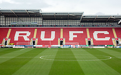 A general view of Aesseal New York Stadium, home of Rotherham United - Mandatory by-line: Ryan Crockett/JMP - 10/03/2018 - FOOTBALL - Aesseal New York Stadium - Rotherham, England - Rotherham United v Rochdale - Sky Bet League One