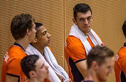 04-06-2016 NED: Nederland - Duitsland, Doetinchem<br /> Nederland speelt de tweede oefenwedstrijd in Doetinchem en verslaat Duitsland opnieuw met 3-1 / Niels de Vries #11