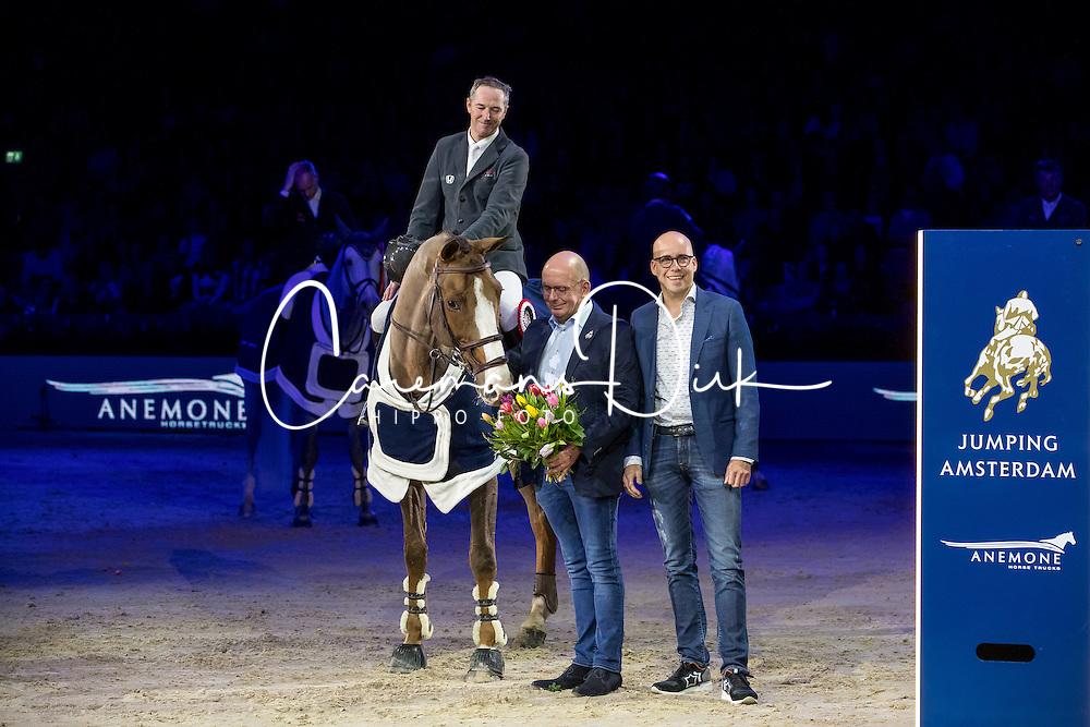 Delaveau Patrice, FRA, Aquila HDC<br /> Anemone Horse Trucks Prize<br /> Jumping Amsterdam 2017<br /> © Hippo Foto - Leanjo de Koster<br /> 28/01/17