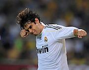 Fussball   International     Freundschaftsspiel     Borussia Dortmund - Real Madrid     19.08.09 KAKA (Madrid) jubelt nach dem Tor zum 5-0.