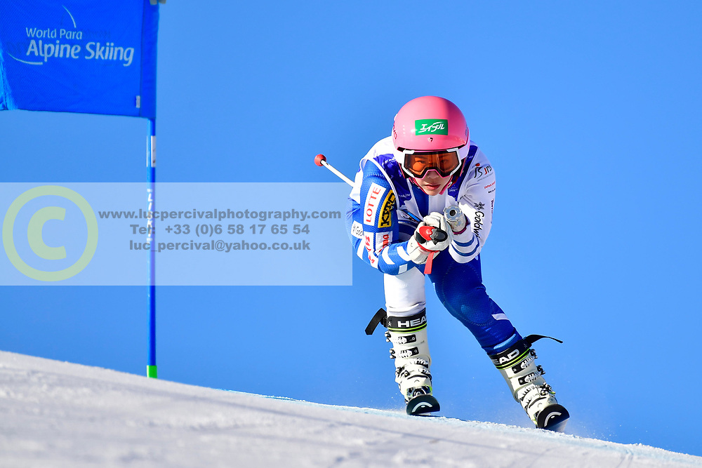 HONDO Ammi, LW6/8-2, JPN, Giant Slalom at the WPAS_2019 Alpine Skiing World Cup, La Molina, Spain