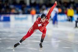 10-12-2016 NED: ISU World Cup Speed Skating, Heerenveen<br /> 1500 m men / Havard Holmefjord Lorentzen NOR