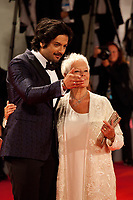 Ali Fazal and Judi Dench at the premiere of the film Victoria & Abdul at the 74th Venice Film Festival, Sala Grande on Sunday 3 September 2017, Venice Lido, Italy.