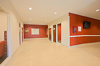 Architectural and Interior photography of Bristol PA Air Force Reserve Center.