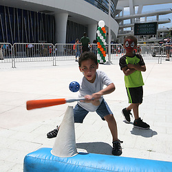 UM/Miami Marlins Family Night 2013