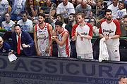 DESCRIZIONE : Campionato 2014/15 Serie A Beko Dinamo Banco di Sardegna Sassari - Grissin Bon Reggio Emilia Finale Playoff Gara4<br /> GIOCATORE : Panchina Grissin Bon Reggio Emilia<br /> CATEGORIA : Ritratto Esultanza Panchina<br /> SQUADRA : Grissin Bon Reggio Emilia<br /> EVENTO : LegaBasket Serie A Beko 2014/2015<br /> GARA : Dinamo Banco di Sardegna Sassari - Grissin Bon Reggio Emilia Finale Playoff Gara4<br /> DATA : 20/06/2015<br /> SPORT : Pallacanestro <br /> AUTORE : Agenzia Ciamillo-Castoria/GiulioCiamillo