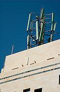 Israel, Tel Aviv Cellular antenna