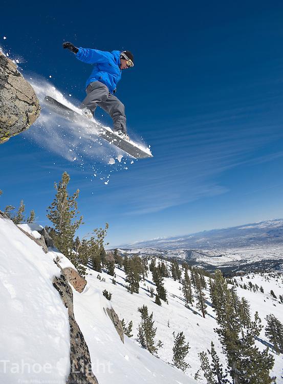 Bluebird day at Mt. Rose Ski Tahoe.