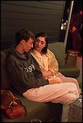 ED FORNIELES; AMALIA ULMAN, Frieze party, ACE hotel Shoreditch. London. 18 October 2014