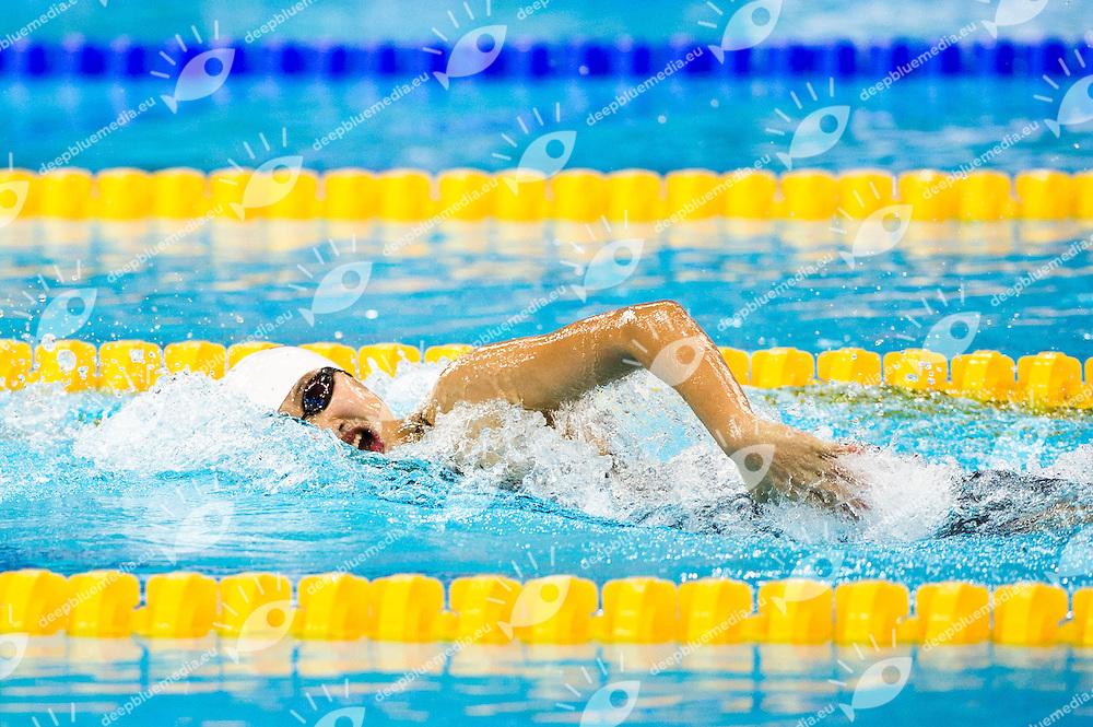 Qiu Yuhan    CHN.100 women's freestyle..9th Asian Swimming Championships.Dubai - U.A.E.  Nov.15th - 25th 2012.Day 01 - Heats.Photo Barbagelata/Deepbluemedia/Insidephoto
