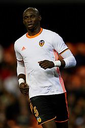 April 6, 2017 - Valencia, Valencia, Spain - Eliaquim Mangala of Valencia CF looks on during the La Liga match between Valencia CF and Real Club Celta de Vigo at Mestalla Stadium on April 6, 2017 in Valencia, Spain. (Credit Image: © David Aliaga/NurPhoto via ZUMA Press)