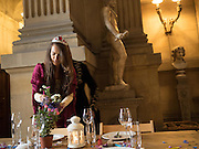 ELOISE FRASER; Bella Howard 30th birthday, Castle Howard, Dress code: Flower Fairies and Prince Charming, 3 September 2016