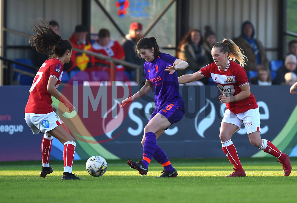 Niamh Fahey of Liverpool Women - Mandatory by-line: Paul Knight/JMP - 17/11/2018 - FOOTBALL - Stoke Gifford Stadium - Bristol, England - Bristol City Women v Liverpool Women - FA Women's Super League 1