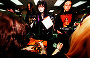 """Cradle Of Filth"" fans looking starstruck, UK 2000's"