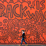 'Crack Is Wack', a Keith Haring mural in East Harlem.