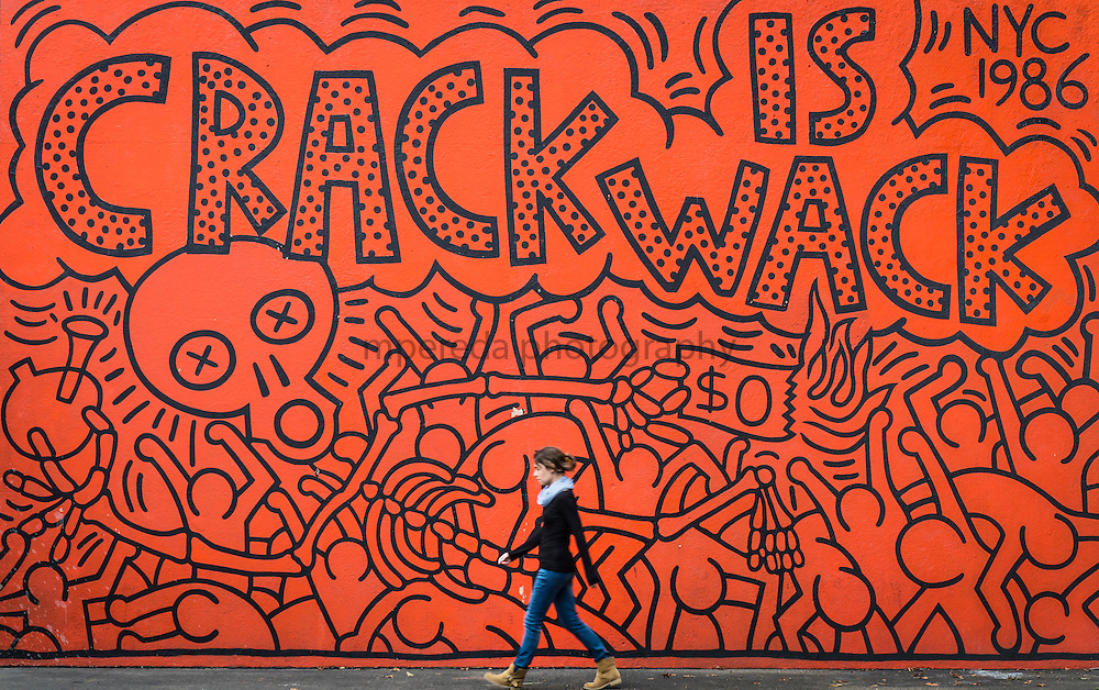 Keith haring graffiti mpereda photography for Crack is wack mural