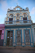 Ornate house in Havana Vieja, Cuba.