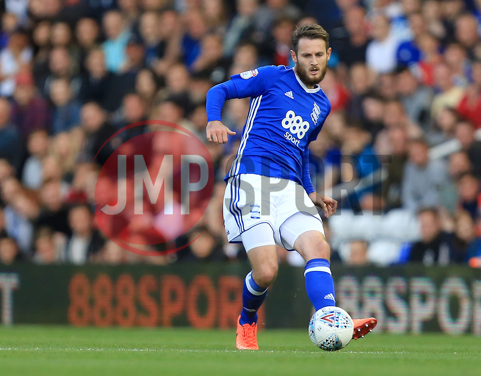 Jonathan Grounds of Birmingham City - Mandatory by-line: Paul Roberts/JMP - 15/08/2017 - FOOTBALL - St Andrew's Stadium - Birmingham, England - Birmingham City v Bolton Wanderers - Sky Bet Championship
