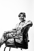 Aleshia L. Berryhill<br /> E-6<br /> Security Forces<br /> OIF, OEF<br /> May 13, 1998 - May 15, 2014<br /> <br /> Veterans Portrait Project<br /> 802d Security Forces Squadron<br /> San Antonio, TX